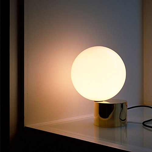 BENJUNPostmoderna minimalista creativo lettura lampada da tavolo Nordic studio art camera da letto comodino in metallo vetro decorativo lampada da tavolo 210  300mm