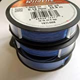 Beadalon Wildfire.006 in, Blue, 50 yd Thermally Bonded Thread
