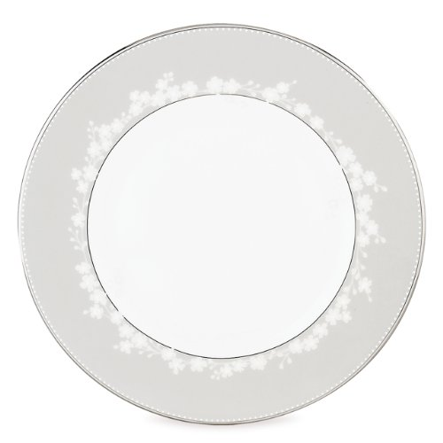 Lenox Bellina Bone China Platinum Banded Dinner Plate