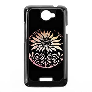 Lotus HTC One X Cell Phone Case Black HX4432536