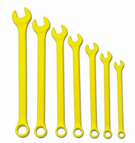 Williams WS-1170YSC 7-Piece Yellow Super Combo Combination Wrench Set by Williams
