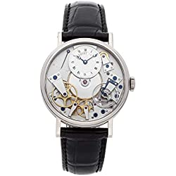 Breguet Tradition Mechanical (Hand-Winding) Silver Dial Mens Watch 7057BB/11/9W6 (Certified Pre-Owned)