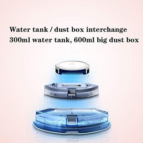 ZHANG Aspirateur Robot, aspirateur Domestique Machines de Balayage Aspirateur de poussière Puissant Aspirateur Automatique pour Nettoyer Les sols durs Carpe