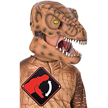 Rubies Jurassic World: Fallen Kingdom Childs Tyrannosaurus Rex Movable Jaw Mask