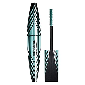 Covergirl Peacock Flare Mascara, 795 Jet Black (Pack of 2)
