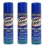 Odor Eaters Foot & Shoe Spray 150ml (3 Pack)
