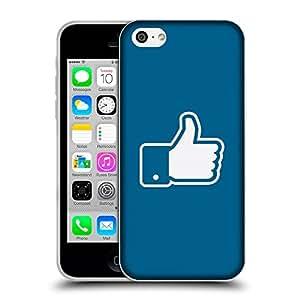 Super Galaxy Coque de Protection TPU Silicone Case pour // V00000615 Pulgares arriba del vector // Apple iPhone 5C