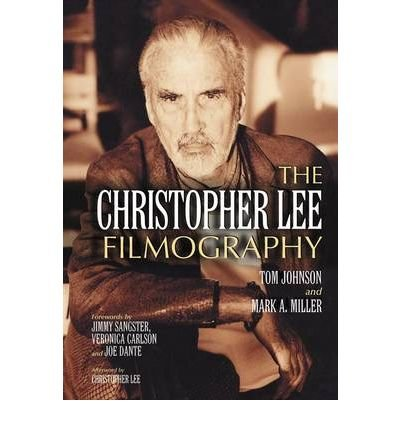 Books : The Christopher Lee Filmography: All Theatrical Releases, 1948-2003 (Paperback) - Common