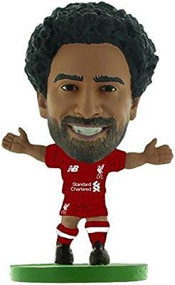 0460469d2 Amazon.com  SoccerStarz SOC1317 Liverpool Mohamed Salah Home Kit (2019  Version) (New Sculpt)  Figures