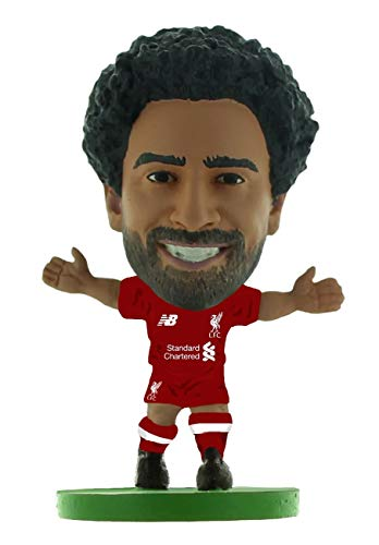 a81a513c3 SoccerStarz SOC1317 Liverpool Mohamed Salah Home Kit (2019 Version) (New  Sculpt)  Figures