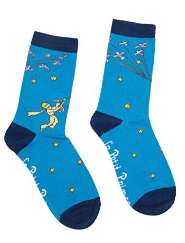 Little Prince Socks Large Blue ()