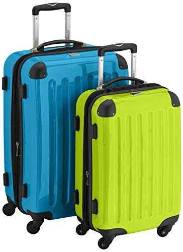 HAUPTSTADTKOFFER Set di valigie, 65 cm, 116 L, Multicolore