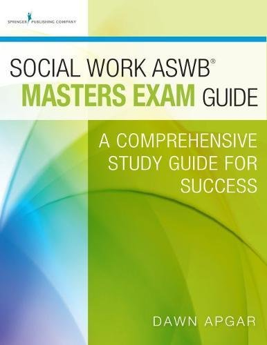 Social Work ASWB Masters Guide product image