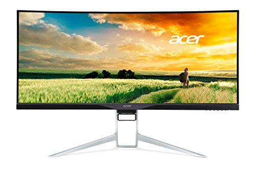 Acer Curved 34-inch UltraWide QHD  Display with 21:9 Aspect