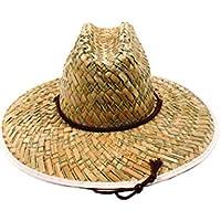 Easy Gardener MS0003 Flat Weave Men's Straw Hat