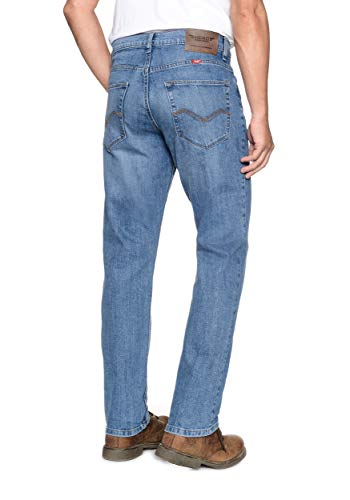 Homme Stretch 7798 Blue Denver 7105 Coupe Droite Pour Hero Vintage Jean 4waxHnScS6