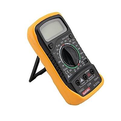 Digital Voltmeter Ammeter Ohmmeter Multimeter Volt AC DC Tester Meter XL-830L