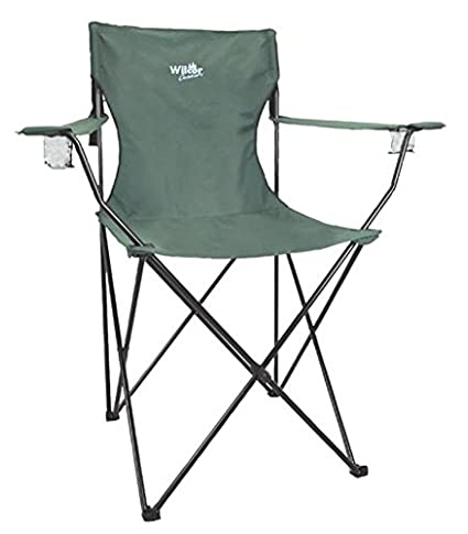 Huge Super Daddy Jumbo Folding Camp Chair, 5.5 Feet Tall, 400lbs, Drink  Holders