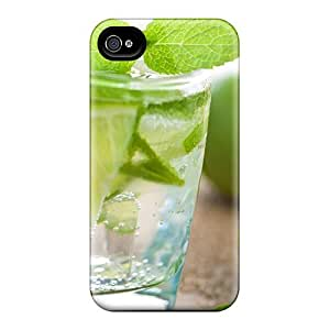 Perfect Lemon Summer Drink Case Cover Skin For Iphone 4/4s Phone Case