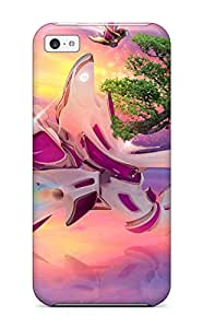 For SOlLFUR3464xMpdW Surreal Protective Case Cover Skin/iphone 5c Case Cover