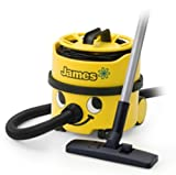 "Cheap Numatic Hi-Power Canister Vacuum Cleaner with Accessory Tool Kit, JVP180-1, ""James"" (Color: Yellow)"