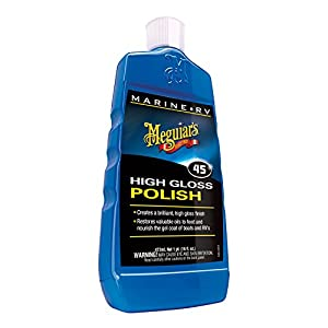 Meguiar's M4516 Marine/RV Polish & Gloss Enhancer - 16 oz.