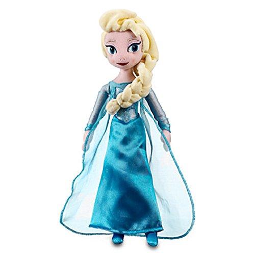 Disney Elsa Plush Doll - Frozen - Mini Bean Bag - 12''