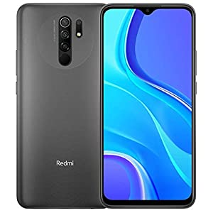 Xiaomi Redmi 9 64GB, 4GB RAM, 6.53″ Full HD + AI Quad Camera, LTE Factory Unlocked Smartphone – International Version (Carbon Grey)