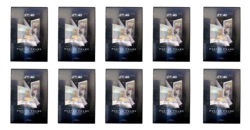 Ten 10 Movie Poster Frames Thin Profile Solid Back Multi Pack
