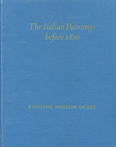 Catalog of the Italian Paintings Before 1800