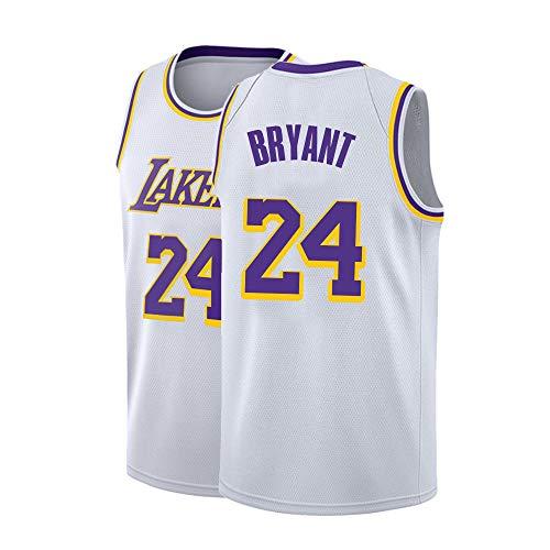Kobe Bryant Usa Basketball Jersey - Mens Bryant Jersey Los Angeles 24 Adult Basketball Kobe Sizes White (Medium)