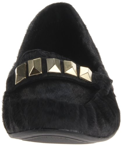 Steve Madden Womens Mistro l Slip-On Loafer Black Pony UKj1cI