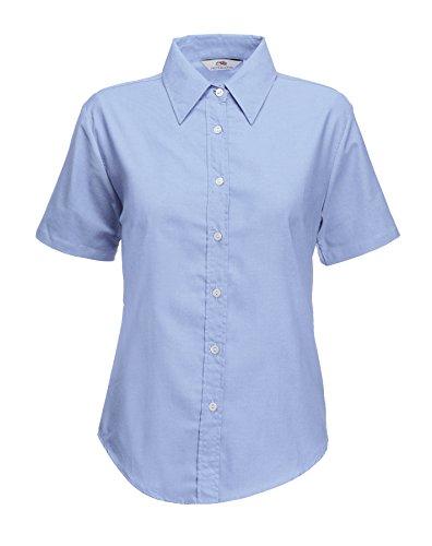 Fruit of the LoomSS110M Camiseta de manga corta para niño azul Azul Oxford M