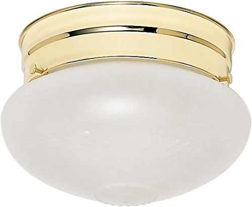 Nuvo SF77/123 Polished Brass Small Frosted Grape (Grapes 123)