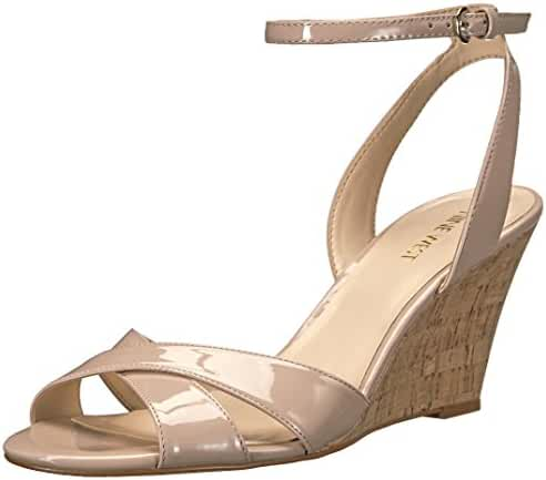 Nine West Women's Kami Patent Wedge Sandal