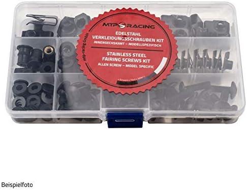Verkleidung Abdeckung Motorradverkleidung Bolzen Kit Schrauben Fit f/ür Honda CBR600RR CBR 600RR 600 RR 2005 2006 Legierung Schwarz Komplette Nut Set CBR600 RR