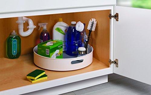Copco 5218433 Non-Skid Under-Sink Pantry Cabinet Kitchen Organizer, 18