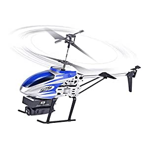 2019 New Clearance Sale !! Tonicas 0.3MP(480P)/ 5.0MP(1080P) Camera Aluminum Alloy Body 2.4GHz 3.5CH RC 0.3MP WIFI Helicopter Quadcopter Drone Hover