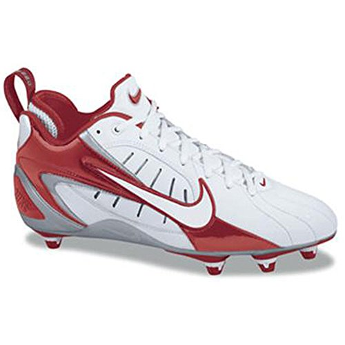 Nike Mens Super Speed D Bianco / Rosso