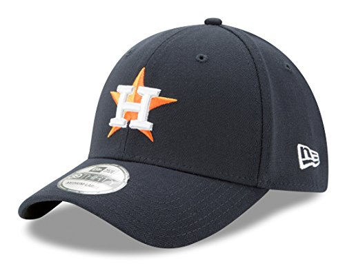MLB Houston Astros Team Classic Home 39Thirty Stretch Fit Cap, Blue, Large/X-Large