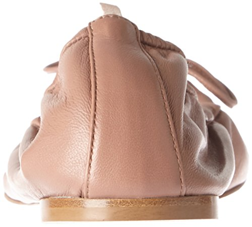 SJP by Sarah Jessica Parker Women's Gelsey Ballet Flats Brown (Sneak Nappa) ShE3jrPET1