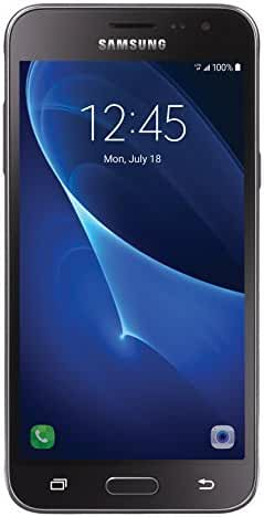 TracFone Samsung Galaxy J3 Sky 4G LTE Prepaid Smartphone with Amazon Exclusive Free $40 Airtime Bundle