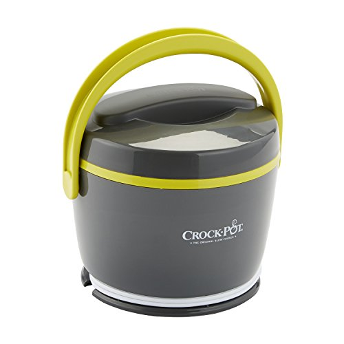 Crock-Pot Lunch Crock Food Warmer, Grey & Lime