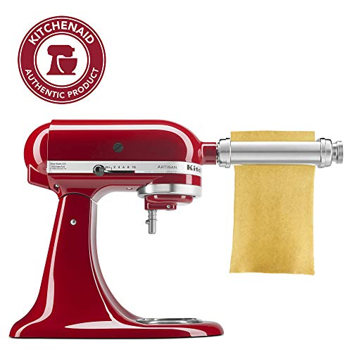 KitchenAid KSMPSA Pasta Roller Attachment, Silver, 1'