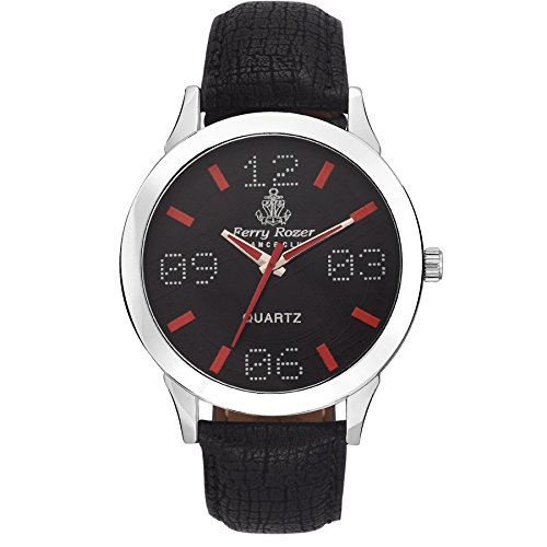 Ferry Rozer Black Dial Analog Watch For Men – FR1081