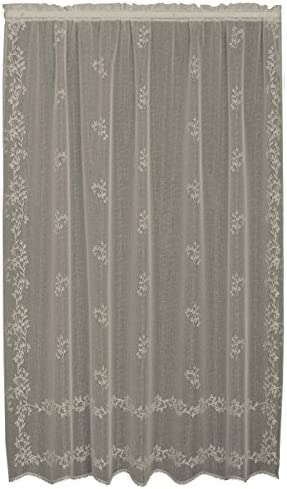 Heritage Lace Sheer Divine Panel, 60 by 84-Inch, Ecru