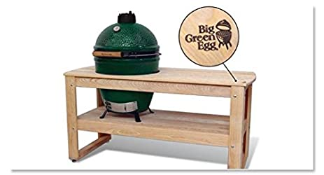 Big Green Egg Cypress Table For X Large Big Green Egg Official Big Green Egg
