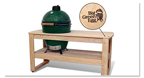 Amazon.com : Big Green Egg Cypress Table For X Large Big Green Egg Official Big  Green Egg Grill U0026 Smoker Accessories Are A Must For BGE Users!