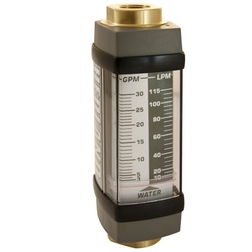 - Hedland Flow Meters (Badger Meter Inc) H705B-030 - Flow Rate Hydraulic Flow Meter - 30 gpm Max Flow Rate, SAE-12 3/4 NPTF in Port Size