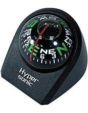 Hypersonic HP2119-3 Universele 'bal' kompas Ø30mm-Zwart